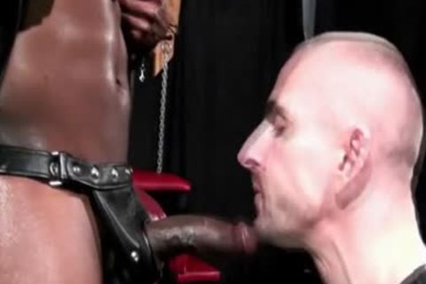 guy Creamed By black dick
