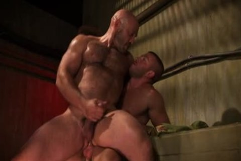 Muscled dude ball batter soaked