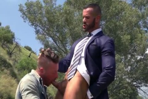 Muscle homosexual Outdoor With Facial