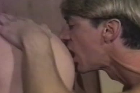 Country dudes eat ass and bang in vintage clip