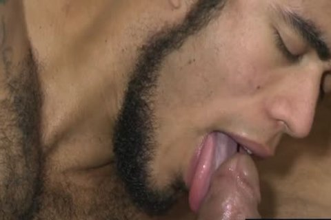 Latin homosexual arse stab With ball cream flow