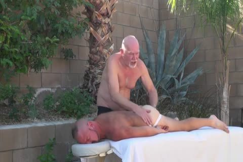 Backyard painfully Two Daddies On twink