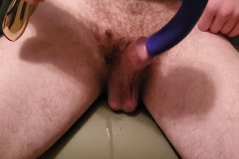 Using G-Spot Magic Wand Attachment On My dick