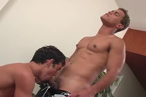 two buddies fuck each other on the couch